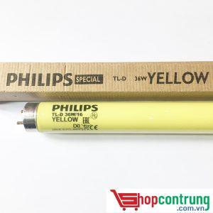 bóng đèn đuổi côn trùng philips vàng 36w-16
