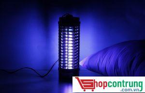Đuổi muỗi bằng đèn bắt muỗi
