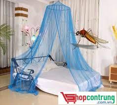 Sử dụng màn chống muỗi để bảo vệ bản thân vào ban đêm