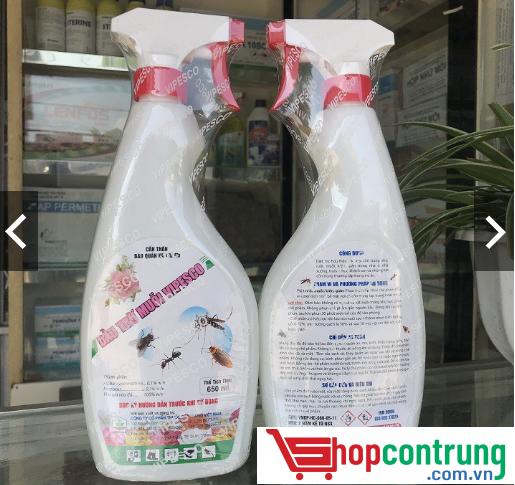chai dầu trừ muỗi