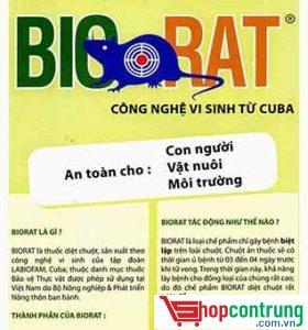 Thuốc diệt chuột Biorat