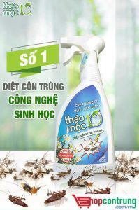 thảo mộc 10s thuoocd diệt côn trùng