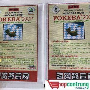 FOKEBA 20% thuốc diệt chuột
