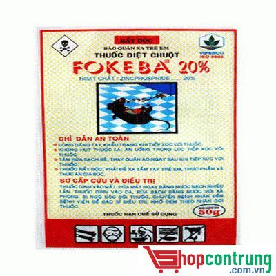 Thuốc diệt chuột FOKEBA 20%